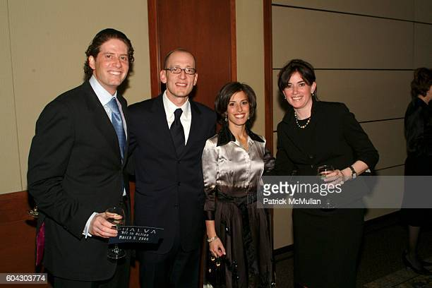 Gil Ottensoser Yoni Leifer Jamie Leifer and Deena Ottensoser attend American Friends of Shalva Annual Dinner at Pier 60 on March 5 2006 in New York...