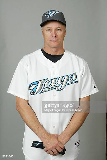 Gil Patterson Pitching Coach of the Toronto Blue Jays on March 1 2004 in Dunedin Florida