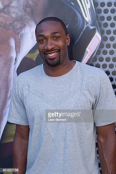 Gilbert Arenas attended The Ball Up National Street Ball Tour at Nokia Plaza LA LIVE on June 21 2014 in Los Angeles California