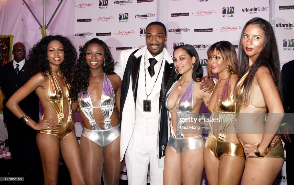 NBA Star Gilbert Arenas Celebrates His 25th Birthday with a Private Party