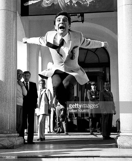 Gilbert Becaud at Cannes Film Festival in 1970