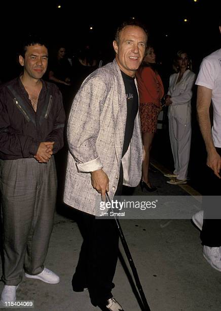 Gilbert Gottfried and James Caan during James Caan and Gilbert Gottfried Sighting at Bar One Nightclub in Beverly Hills June 21 1990 at Bar One...