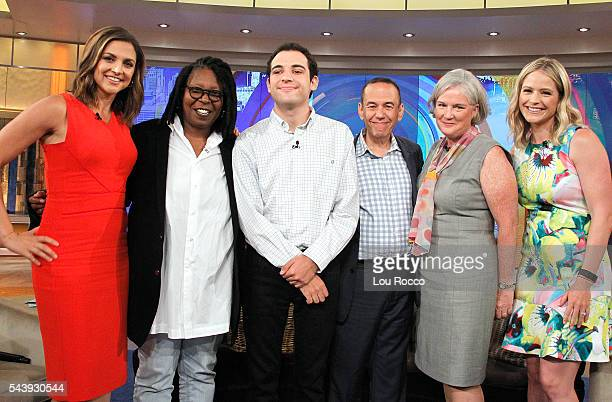 THE VIEW Gilbert Gottfried and Owen Suskind appear on THE VIEW 6/28/16 airing on the Walt Disney Television via Getty Images Television Network HAINES
