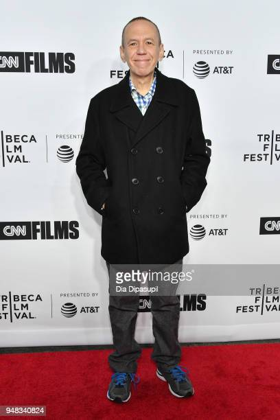 Gilbert Gottfried attends the opening night gala of 'Love Gilda' during the 2018 Tribeca Film Festival at Beacon Theatre on April 18 2018 in New York...