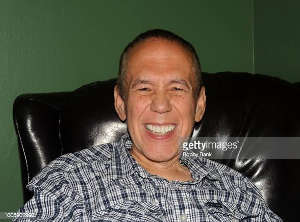 Gilbert Gottfried backstage at The Stress Factory Comedy Club on July 26 2018 in New Brunswick New Jersey