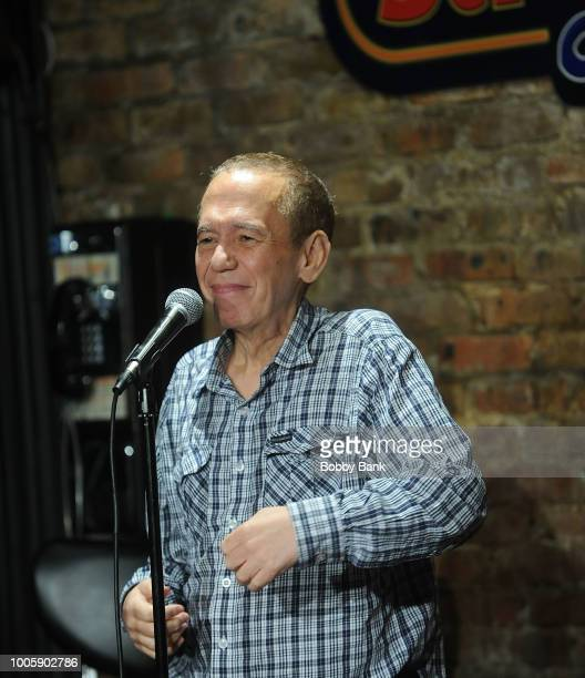Gilbert Gottfried performs at The Stress Factory Comedy Club on July 26 2018 in New Brunswick New Jersey