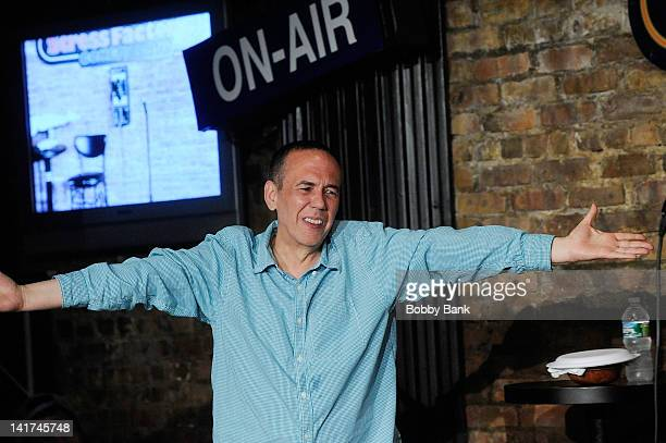 Gilbert Gottfried performs at The Stress Factory Comedy Club on March 22, 2012 in New Brunswick, New Jersey.
