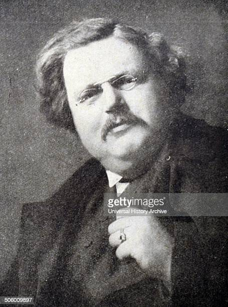 Gilbert Keith Chesterton better known as GK Chesterton was an English writer lay theologian poet philosopher dramatist journalist orator literary and...