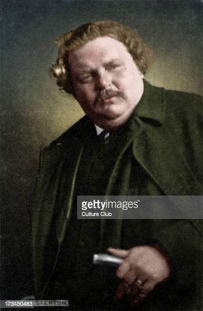 Gilbert Keith Chesterton portrait of the English writer 29 May 1874 14 June 1936