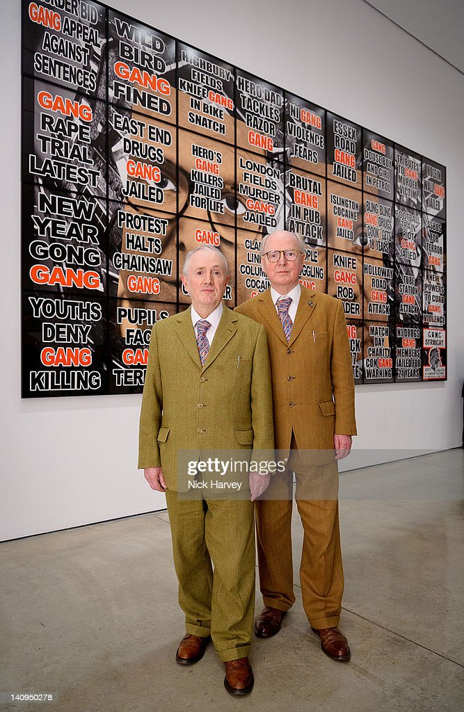 Gilbert & George: London Pictures - Private View