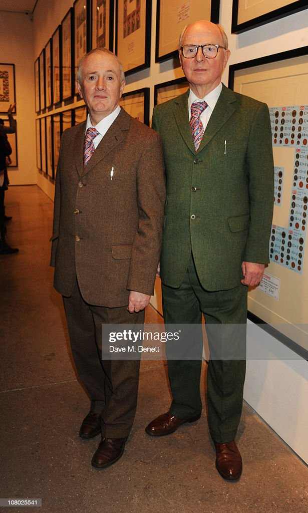 Gilbert & George: The Urethra Postcard Art of Gilbert & George - Private View