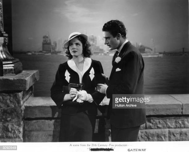 Gilbert Roland and Arleen Whelan star in the 20th Century Fox film 'Gateway' directed by Alfred L Werker