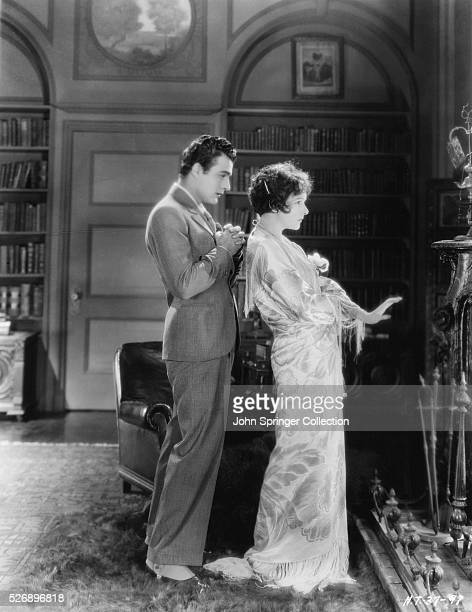 Gilbert Roland as Armand Duval and Norma Talmadge as Marguerite Gautier in the 1926 silent film version of Camille