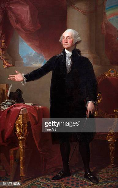 Gilbert Stuart George Washington oil on canvas 2476 x 1587 cm National Portrait Gallery Washington