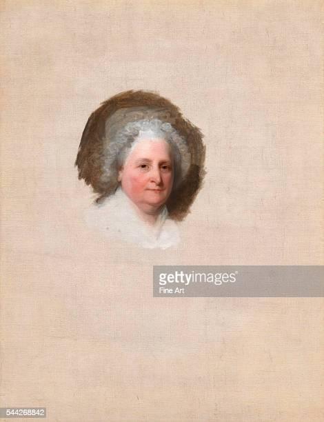 Gilbert Stuart Martha Washington oil on canvas 1219 x 94 cm National Portrait Gallery Washington DC