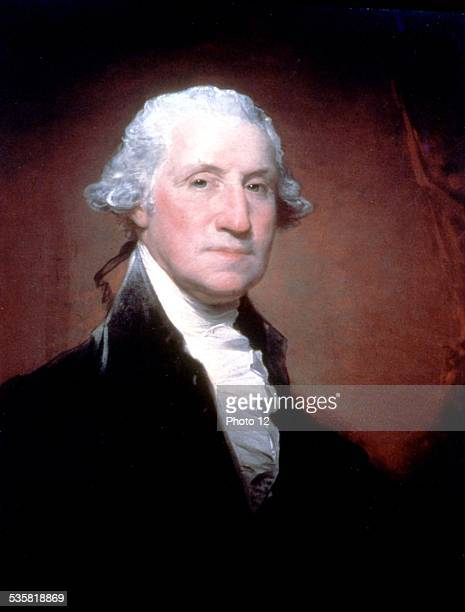 Gilbert Stuart portrait of George Washington 17951796 United States Washington National portrait gallery