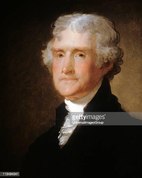 Gilbert Stuart Thomas Jefferson 1821 US President