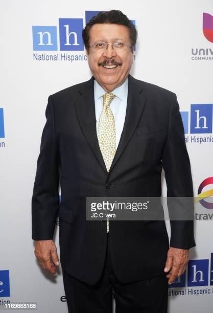 Gilbert Vazquez attends the NHMC's 17th Annual Los Angeles Impact Awards luncheon at Hilton Universal City on August 22 2019 in Universal City...