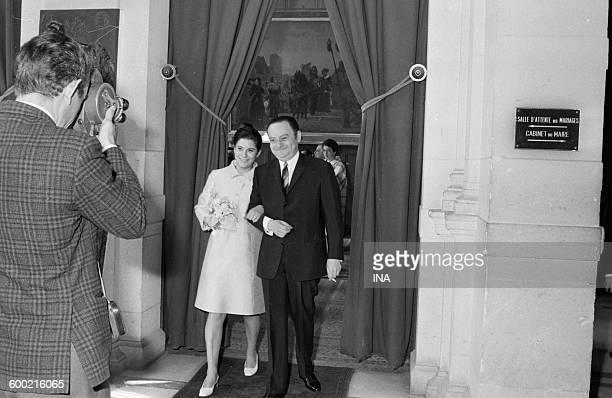 Gilberte PollaroMillo and René Goscinny during their marriage
