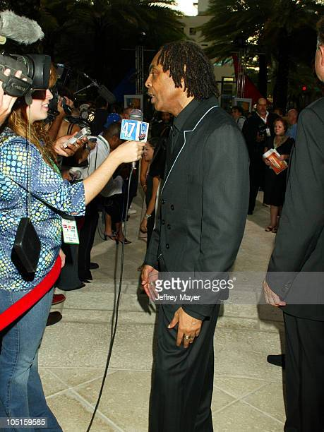 Gilberto Gil 2003 LARAS Person Of The Year during The 4th Annual Latin GRAMMY Awards 2003 LARAS Person of The Year Arrivals at Loews Miami Beach in...