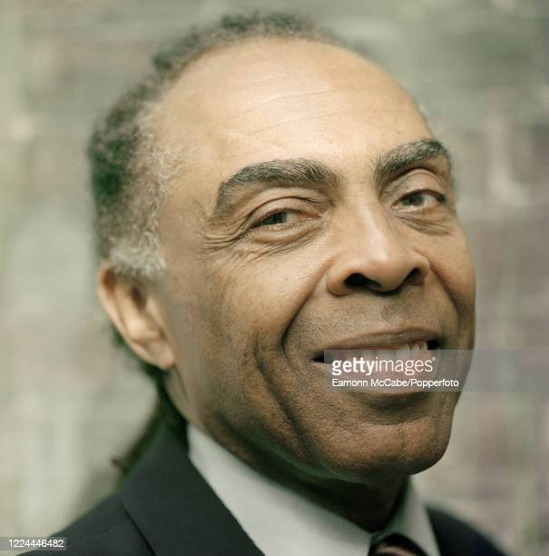 Gilberto Gil, Brazilian musician and political activist, circa October 2005. Gil rose to fame in Brazil in the 1960s as a singer, songwriter and...