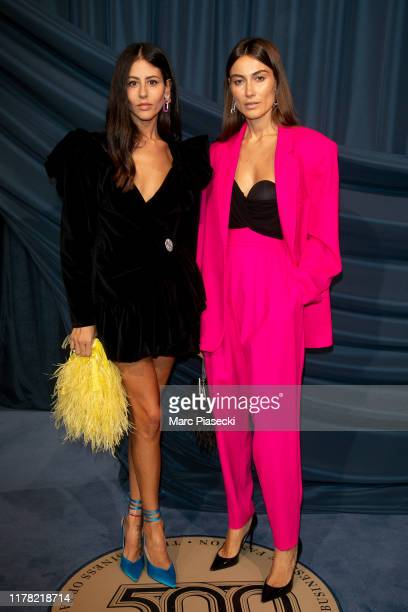 Gilda Ambrosio and Giorgia Tordini attend the #BoF500 gala during Paris Fashion Week Spring/Summer 2020 at Hotel de Ville on September 30 2019 in...