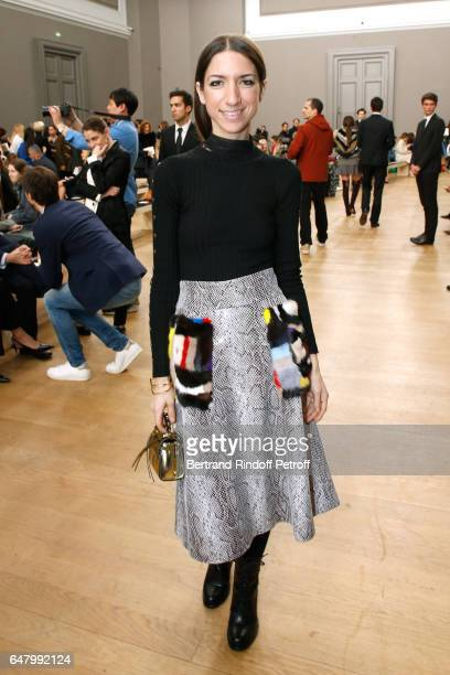 Gilda Ambrosio attends the Nina Ricci show as part of the Paris Fashion Week Womenswear Fall/Winter 2017/2018 on March 4 2017 in Paris France