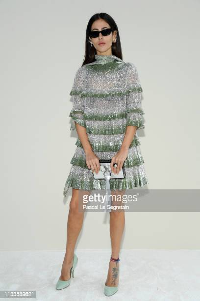 Gilda Ambrosio attends the Valentino show as part of the Paris Fashion Week Womenswear Fall/Winter 2019/2020 on March 03 2019 in Paris France