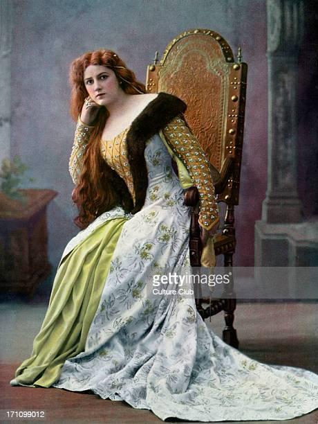 Gilda Darthy as Marguerite de Bourgogne Gilda Darthy as Marguerite de Bourgogne in 'La Tour de Nesle' the drama by Alexandre Dumas at Theatre de la...