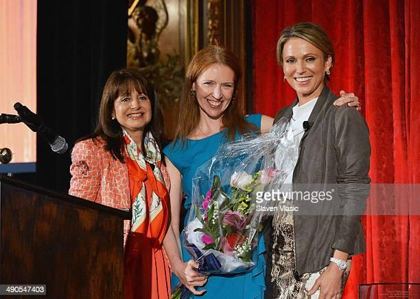 Gilda's Club CEO Lily Safani, cancer survivor Mary Elizabeth Williams and ABC News anchor and cancer survivor Amy Robach attend the 7th annual...