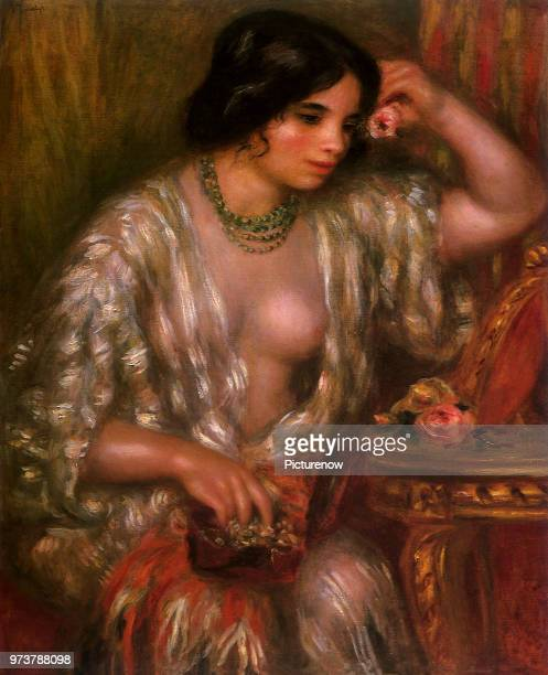 Gilding a Lily Renoir PierreAuguste 1910