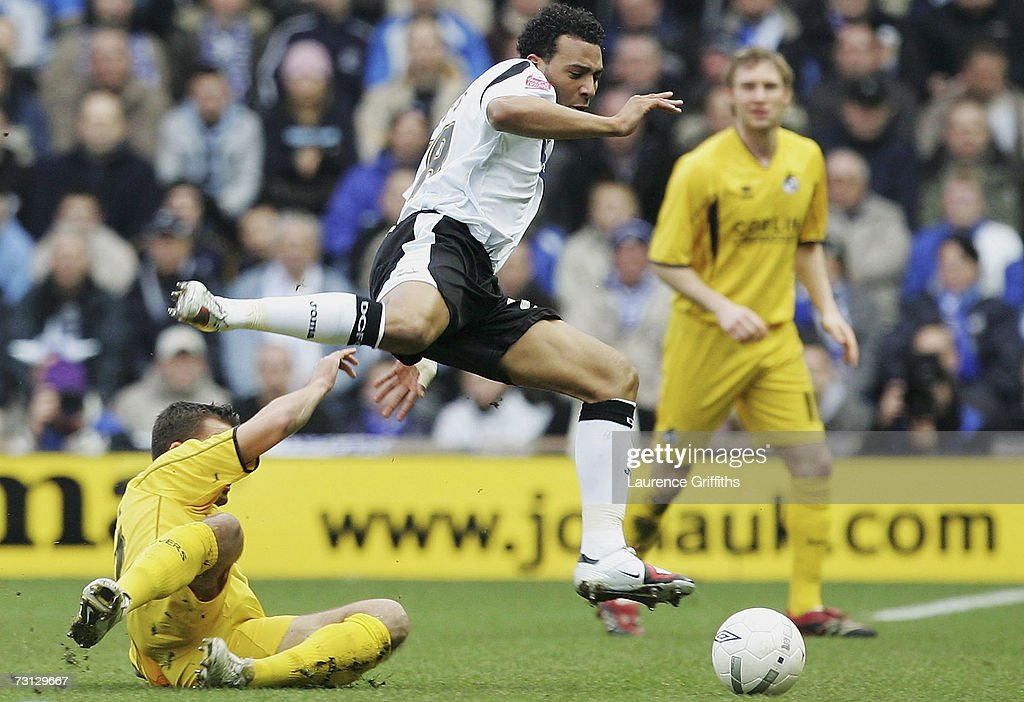 FA Cup 4th Round: Derby County v Bristol Rovers : News Photo