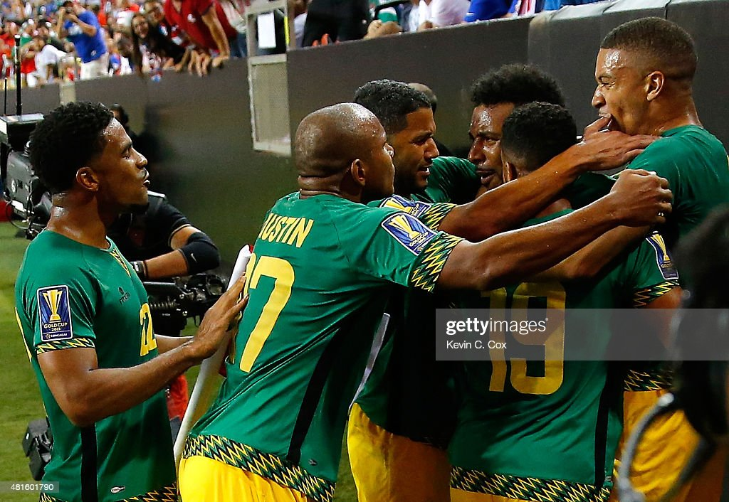 Jamaica v United States: Semifinals - 2015 CONCACAF Gold Cup : News Photo