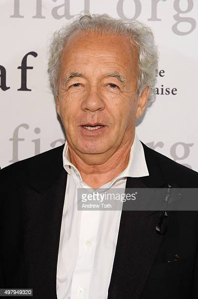 Giles Bensimon attends the 2015 Trophee Des Arts gala at The Plaza Hotel on November 19 2015 in New York City