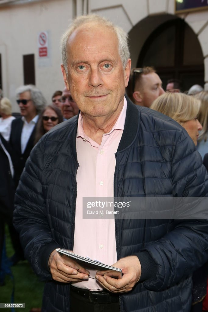 Giles Brandreth attends the press night performance of 'Pressure' at The Ambassadors Theatre on June 6, 2018 in London, England.