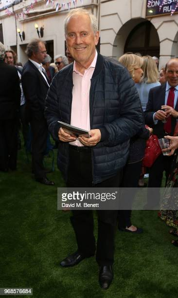 Giles Brandreth attends the press night performance of 'Pressure' at The Ambassadors Theatre on June 6 2018 in London England