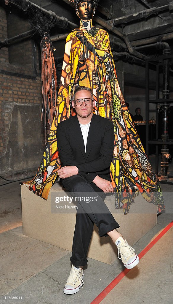 Giles Deacon attends Britain Creates 2012 at Old Selfridges Hotel on June 27, 2012 in London, England.