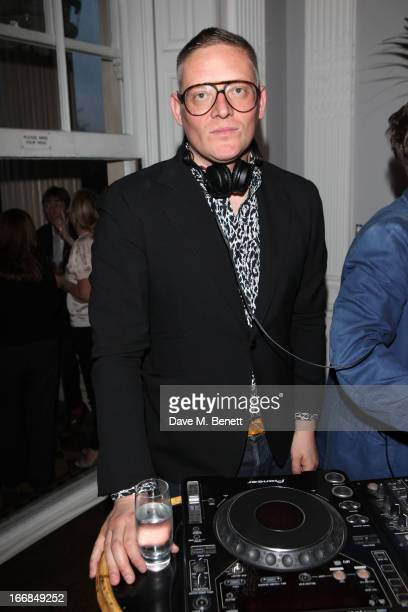 Giles Deacon attends Molton Brown and Giles Deacon launch event at the ICA on April 17 2013 in London England