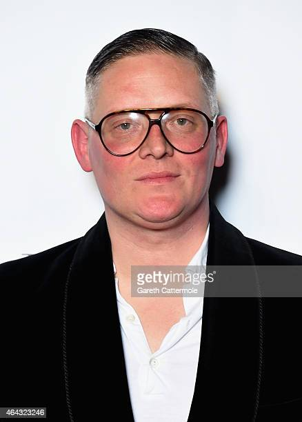 Giles Deacon attends the Elle Style Awards 2015 at Sky Garden @ The Walkie Talkie Tower on February 24 2015 in London England