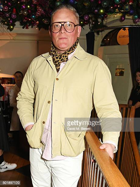 Giles Deacon attends the LOVE Christmas party at George on December 18 2015 in London England