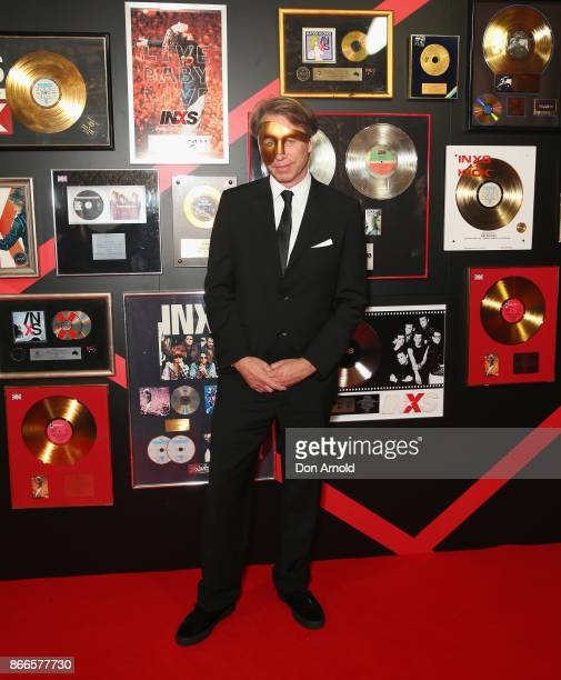 Giles Martin arrives ahead of the INXS Masquerade Party at State Theatre on October 26 2017 in Sydney Australia