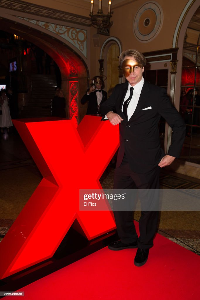 Giles Martin arrives ahead of the INXS Masquerade Party at State Theatre on October 26, 2017 in Sydney, Australia.