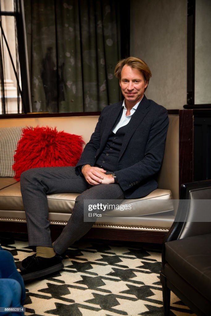 Giles Martin sits for a portrait whilst he is here for the INXS Kick remastered launch at QT Hotel, Sydney on October 25th, 2017 in Sydney, Australia.
