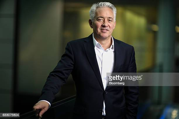 Giles Turrel chief executive officer of Weetabix Ltd poses for a photograph following a Bloomberg Television interview in London UK on Monday Jan 30...