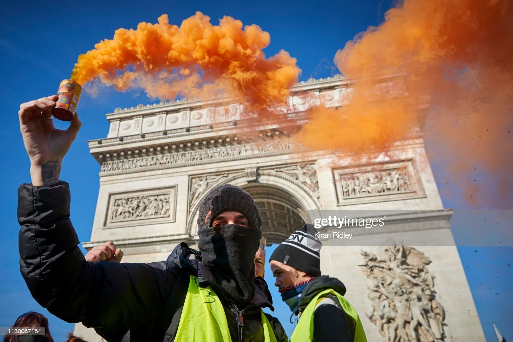 FRA: Gilets Jaunes Protests Reach Their Third Month