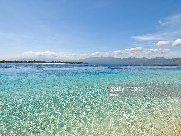 Gili Island beach scene