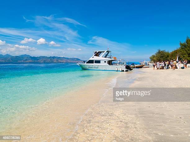 gili islands, indonesia - gili trawangan bildbanksfoton och bilder