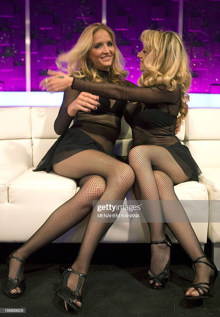 Pantyhose on television