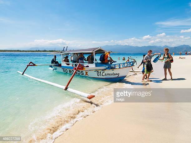 gili trawangan island, indonesia - gili trawangan bildbanksfoton och bilder