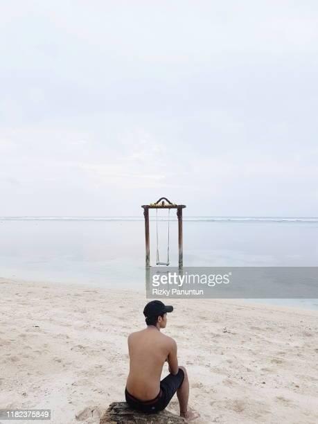 gili trawangan, lombok, indonesia - ロンボク島 ストックフォトと画像